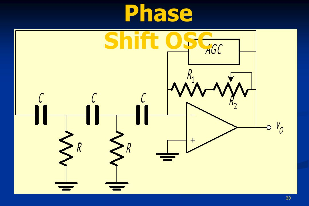 Phase Shift OSC