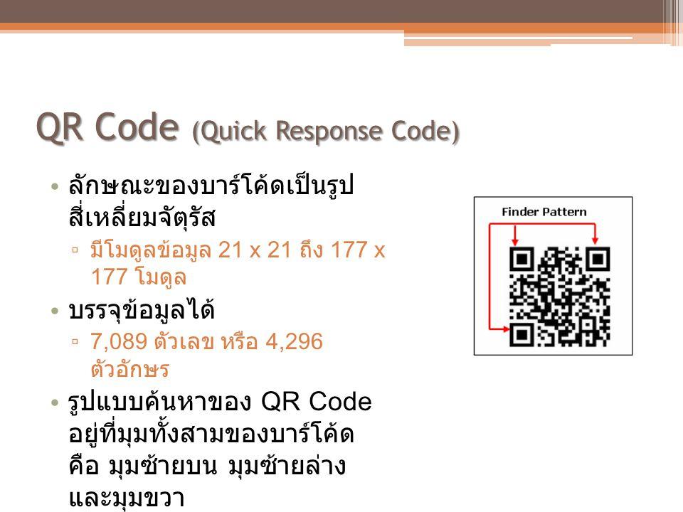 QR Code (Quick Response Code)