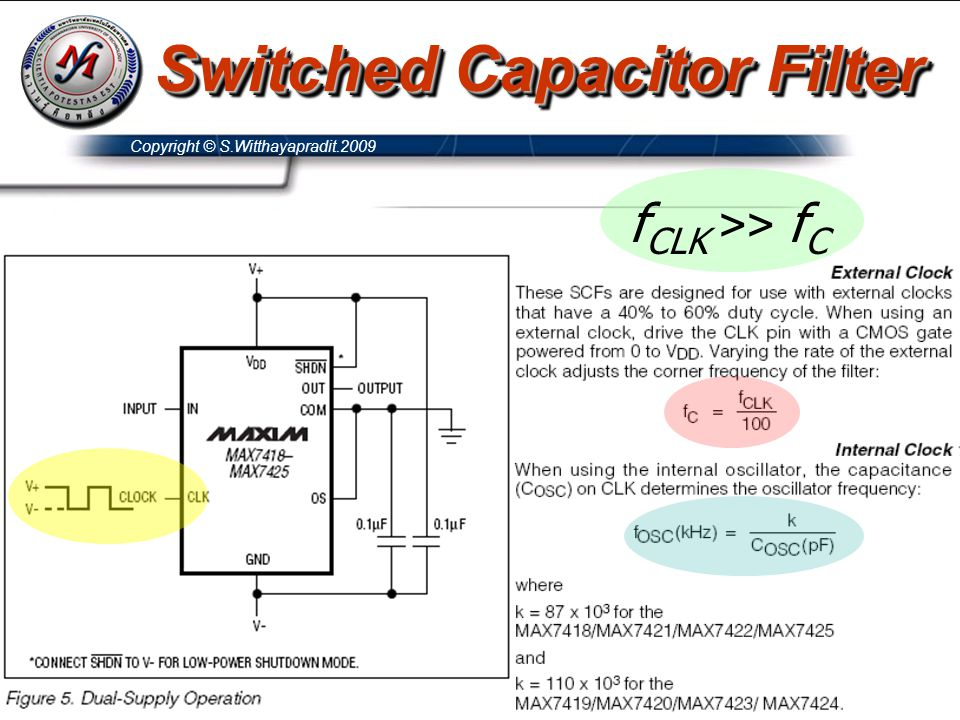 Switched Capacitor Filter
