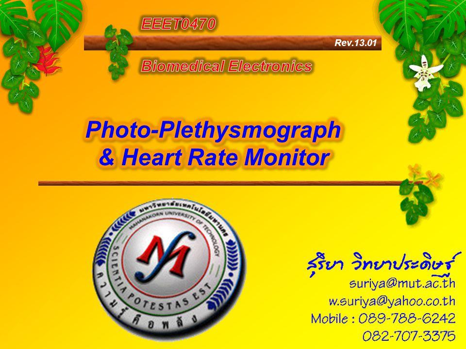 Photo-Plethysmograph