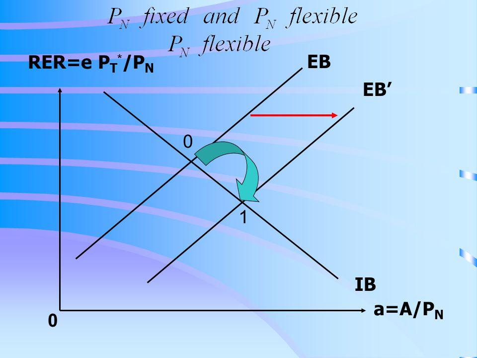 RER=e PT*/PN EB EB' 1 IB a=A/PN