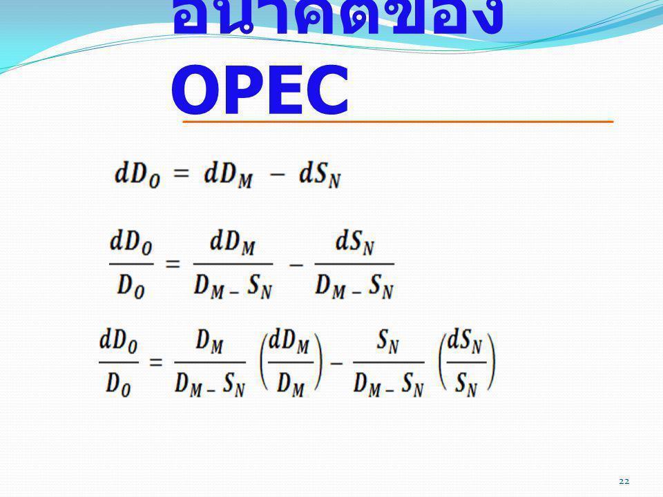 อนาคตของ OPEC 119