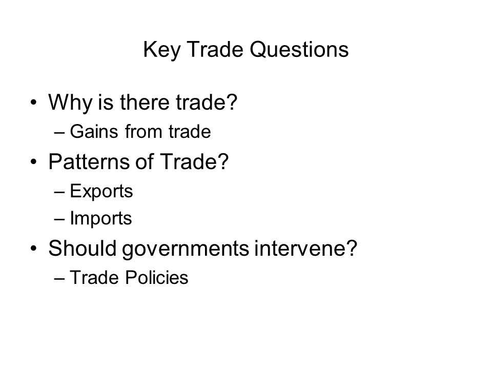 Should governments intervene