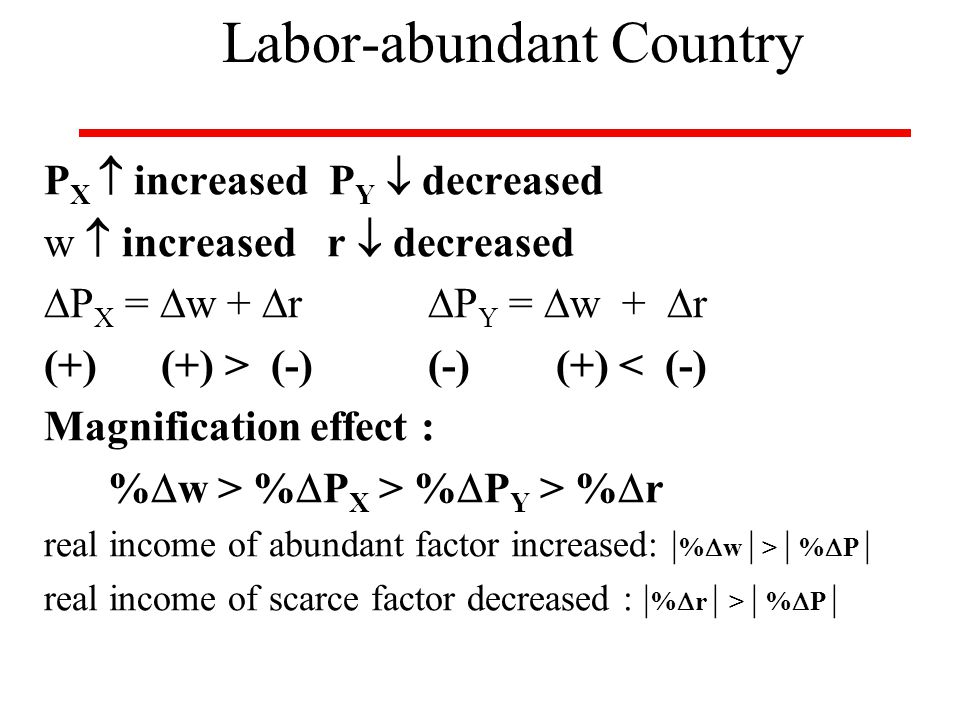 Labor-abundant Country