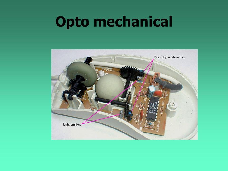 Opto mechanical