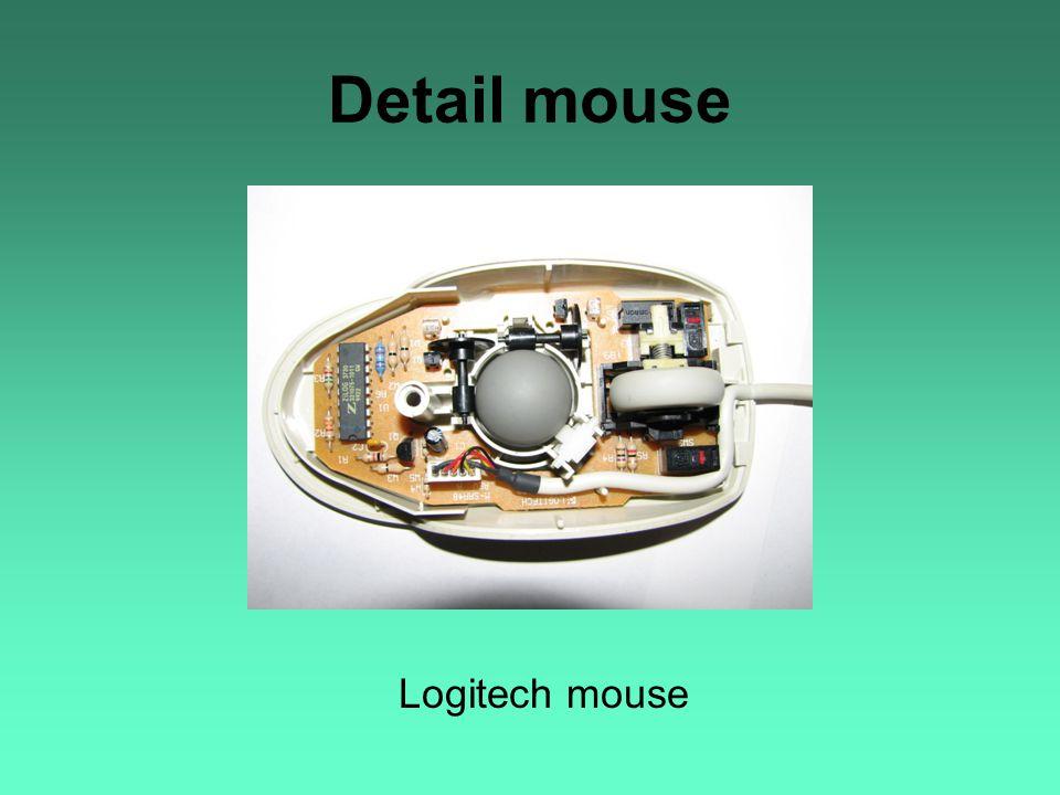 Detail mouse Logitech mouse