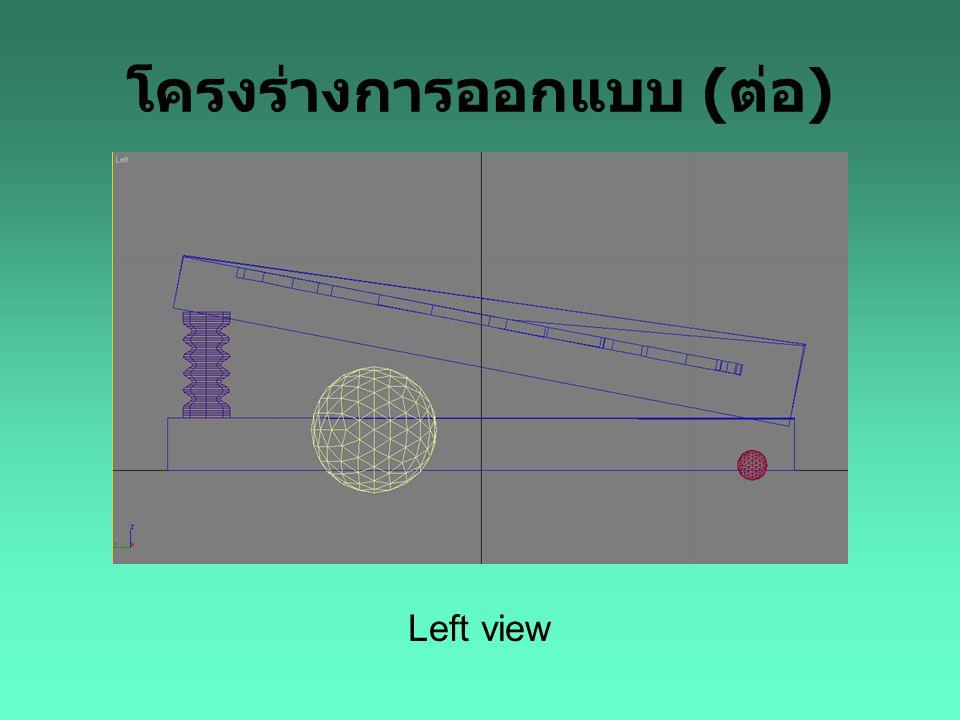 โครงร่างการออกแบบ (ต่อ)