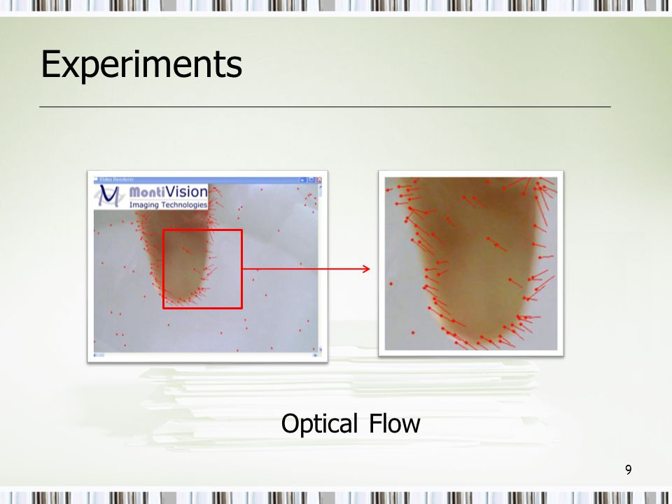 Experiments Optical Flow