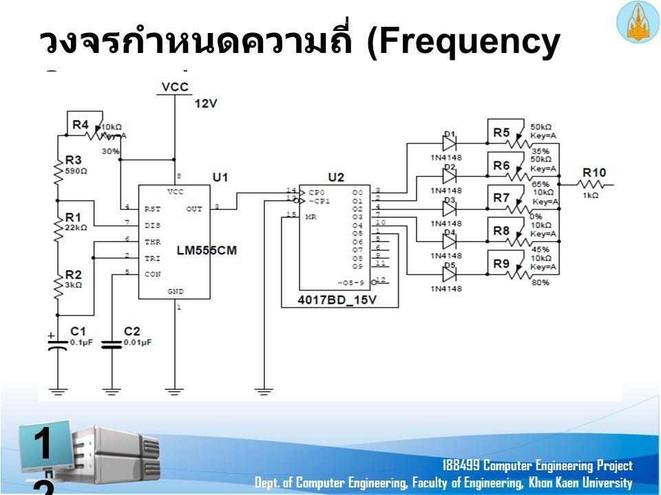 วงจรกำหนดความถี่ (Frequency Scanner)