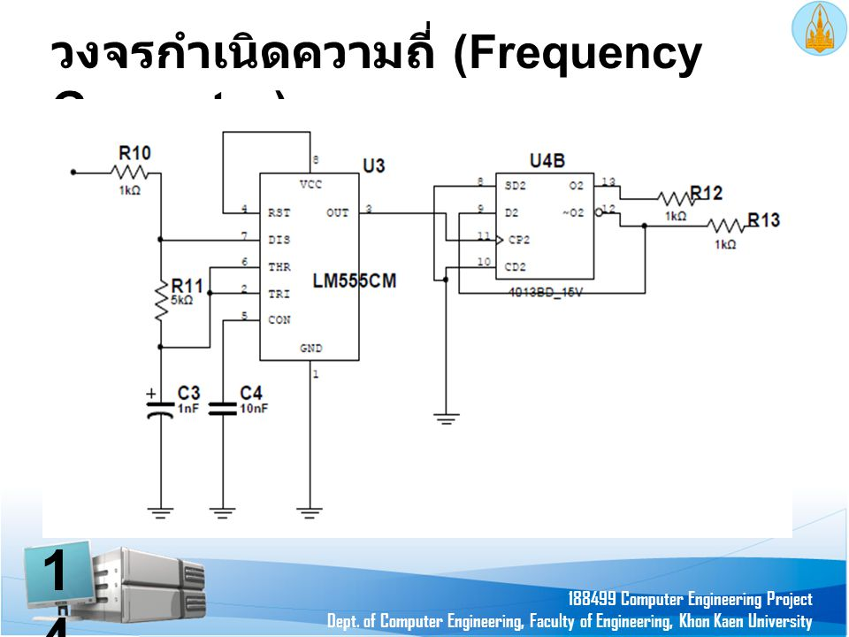 วงจรกำเนิดความถี่ (Frequency Generator)