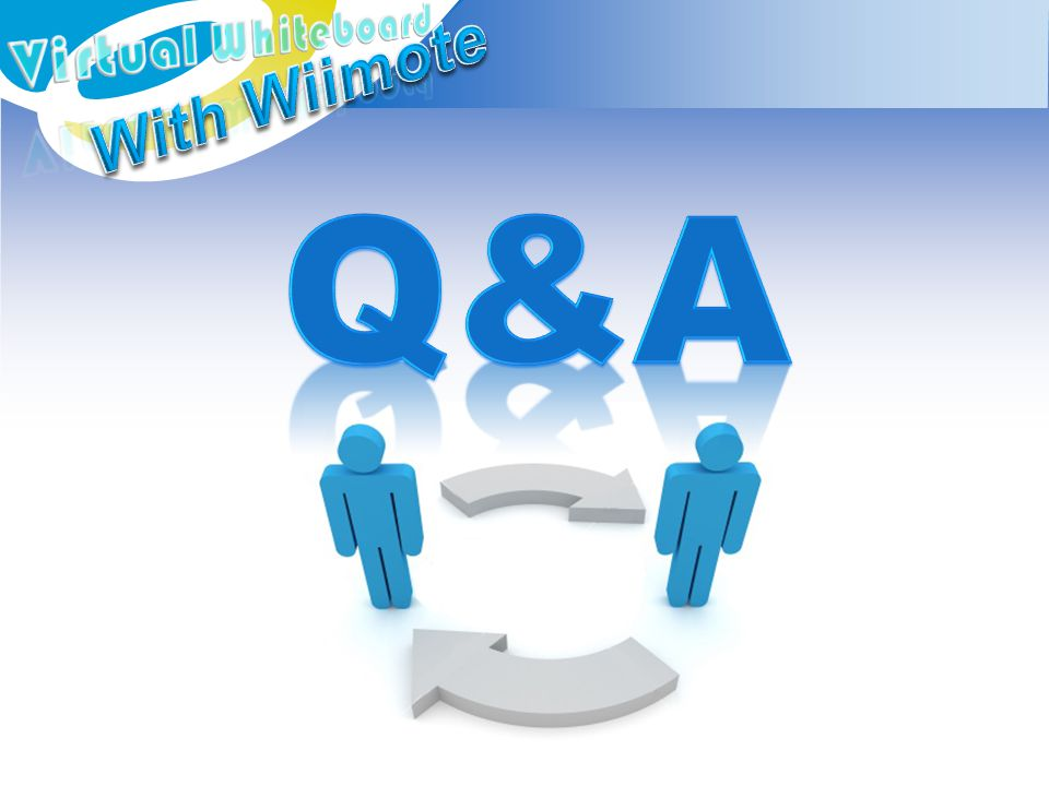 Q&A With Wiimote Virtual Whiteboard