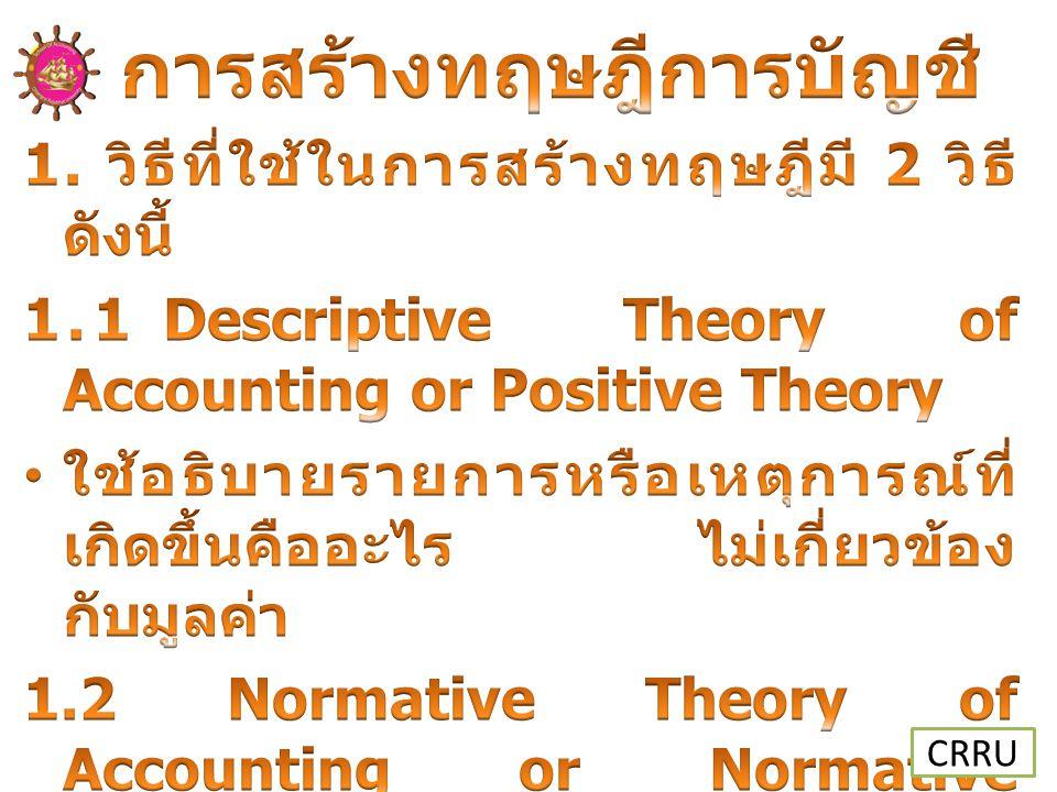 การสร้างทฤษฎีการบัญชี