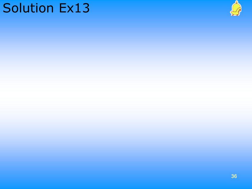 Solution Ex13