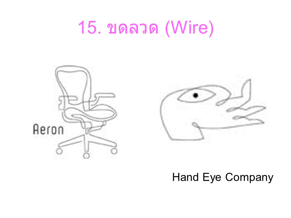 15. ขดลวด (Wire) Hand Eye Company