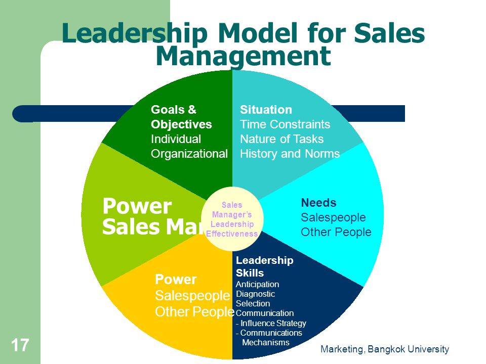 Leadership Model for Sales Management