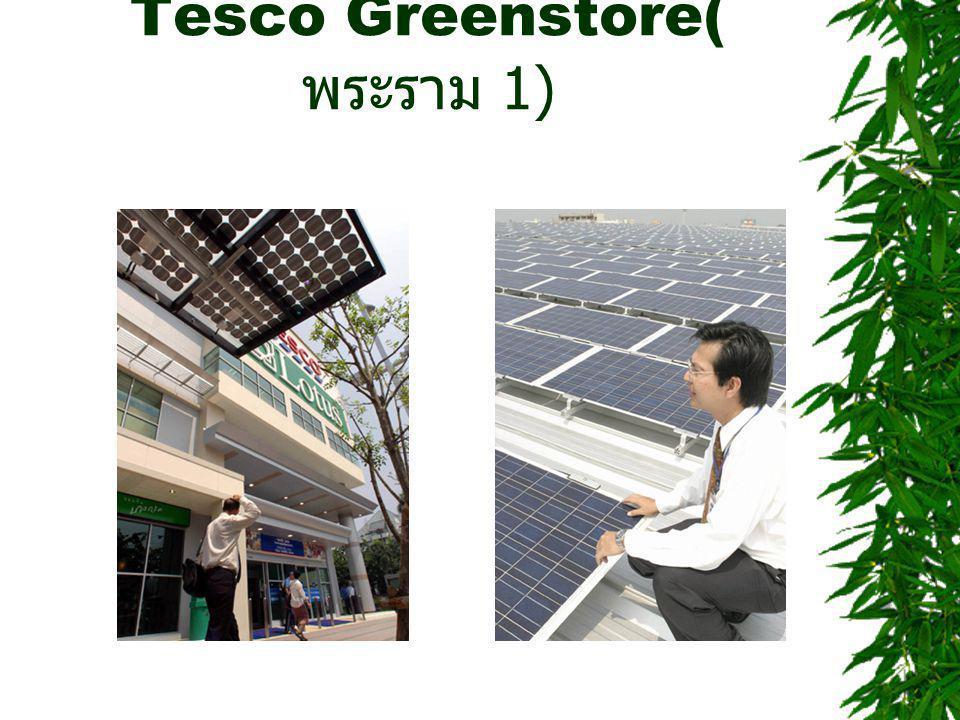 Tesco Greenstore(พระราม 1)