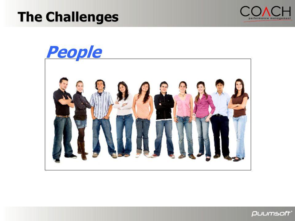People The Challenges องค์กรต่างๆมักมีข้อหารือใน…