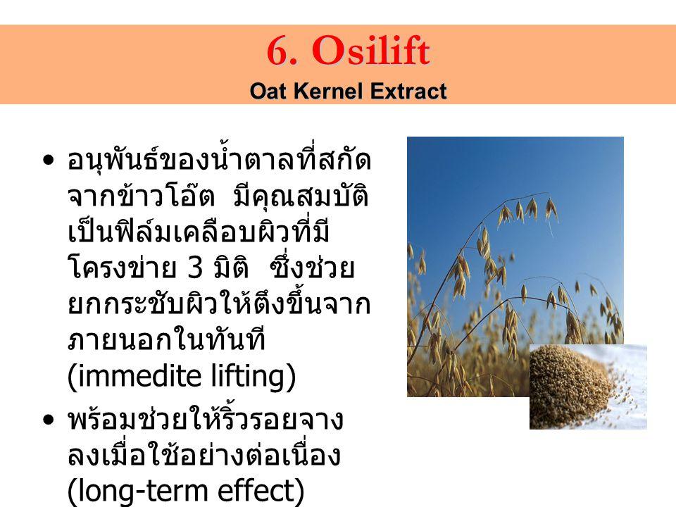 6. Osilift Oat Kernel Extract.