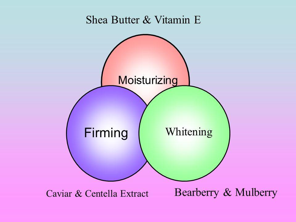 Firming Shea Butter & Vitamin E Moisturizing Whitening