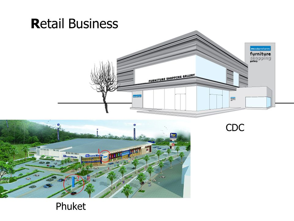 Retail Business CDC Phuket