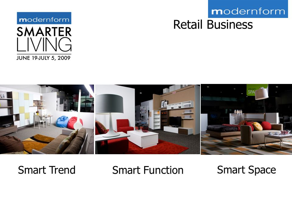 Smart Trend Smart Function Smart Space Retail Business