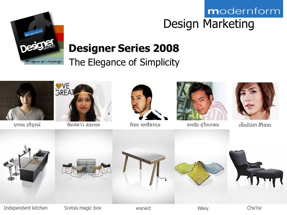 Design Marketing Designer Series 2008 The Elegance of Simplicity