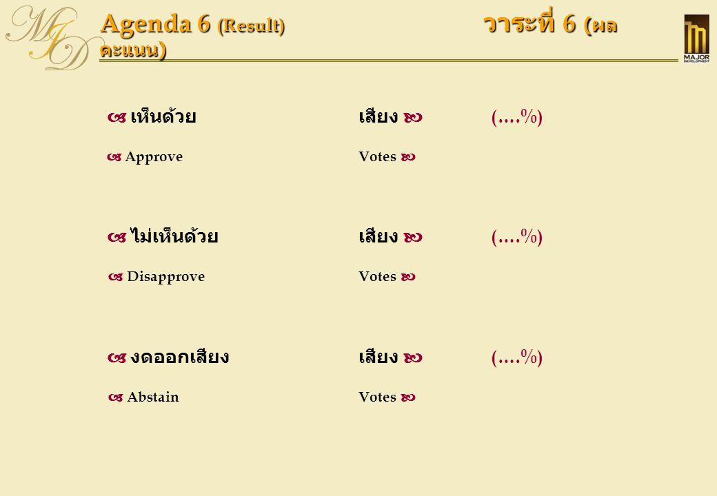 Agenda 7 วาระที่ 7  พิจารณาแต่งตั้งผู้สอบบัญชีและกำหนดค่าตอบแทนแก่ผู้สอบบัญชีสำหรับปี 2551 