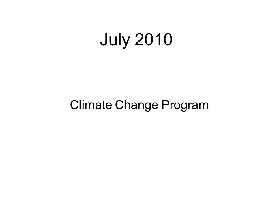 Climate Change Program