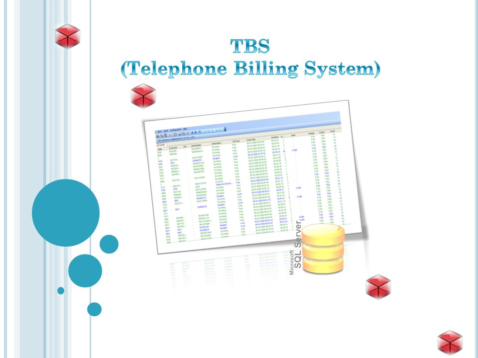 (Telephone Billing System)