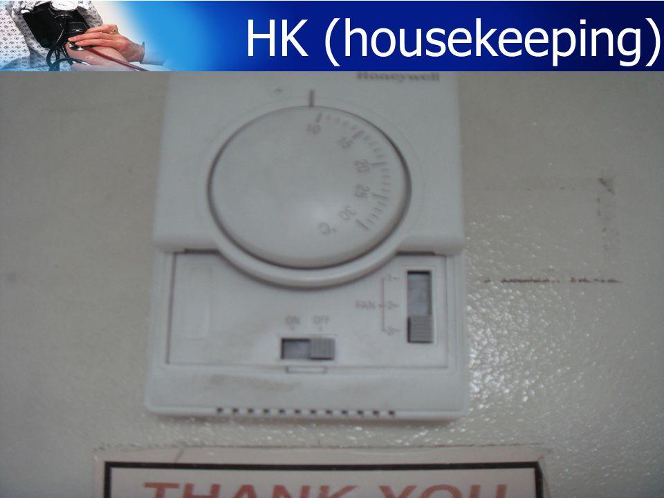 HK (housekeeping)