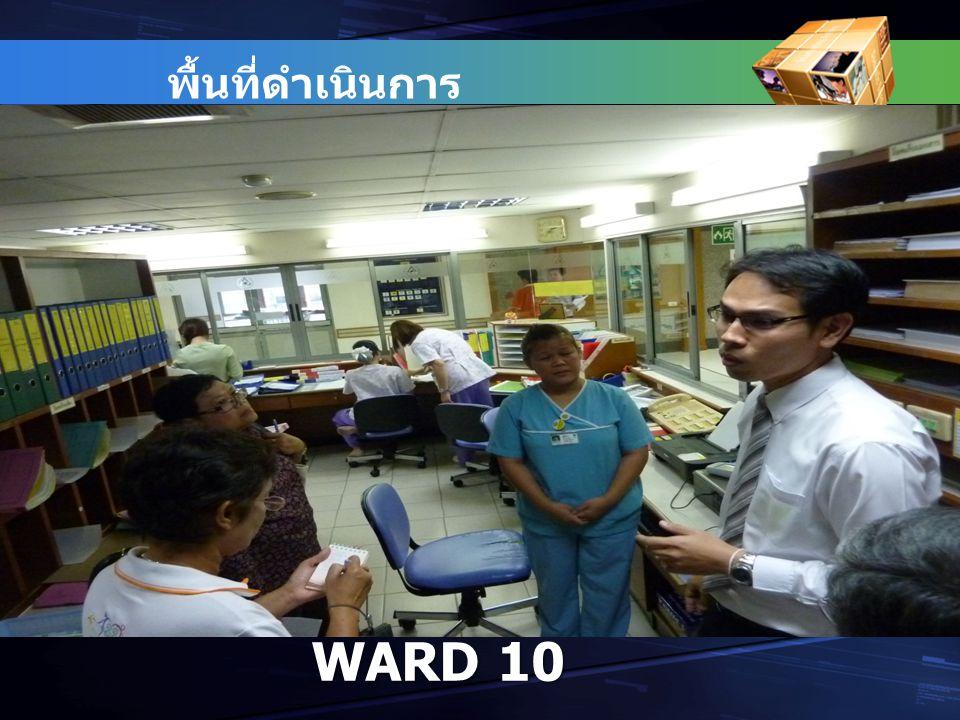 พื้นที่ดำเนินการ WARD 10