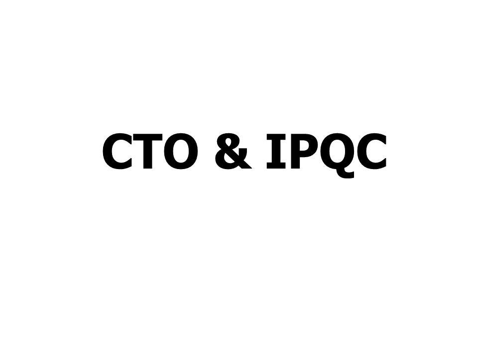CTO & IPQC