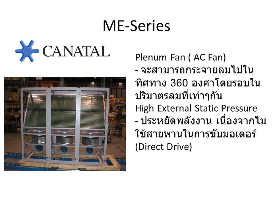 ME-Series Plenum Fan ( AC Fan)