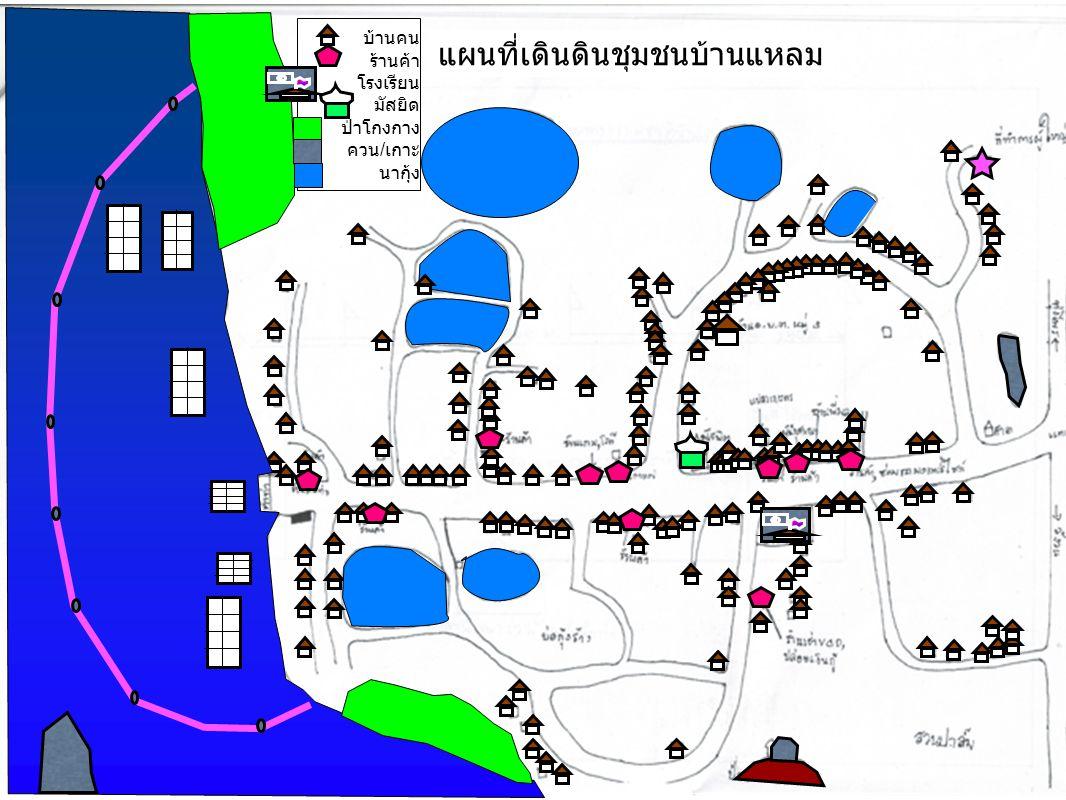 แผนที่เดินดินชุมชนบ้านแหลม
