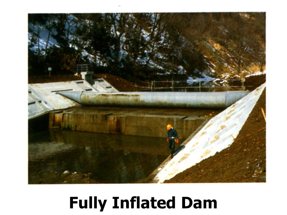 Fully Inflated Dam
