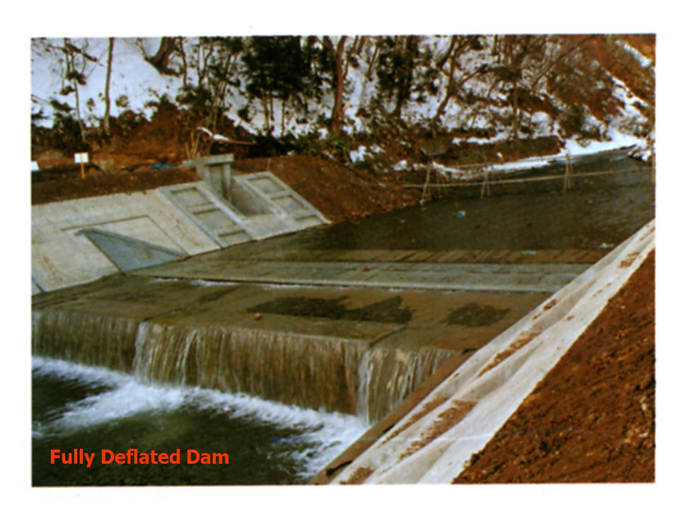 Fully Deflated Dam