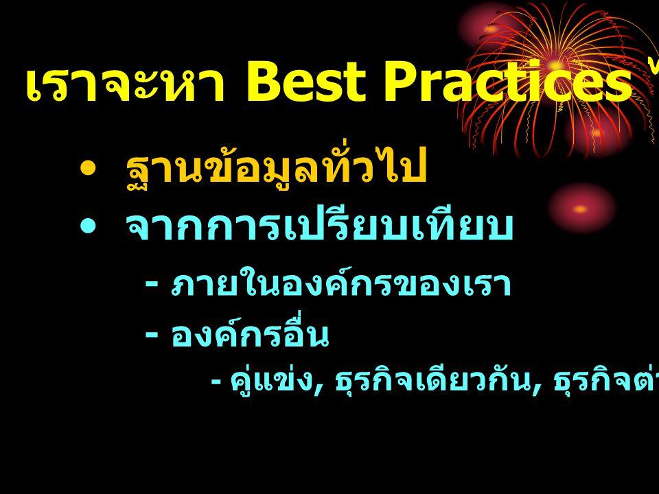 เราจะหา Best Practices ได้จากที่ไหน
