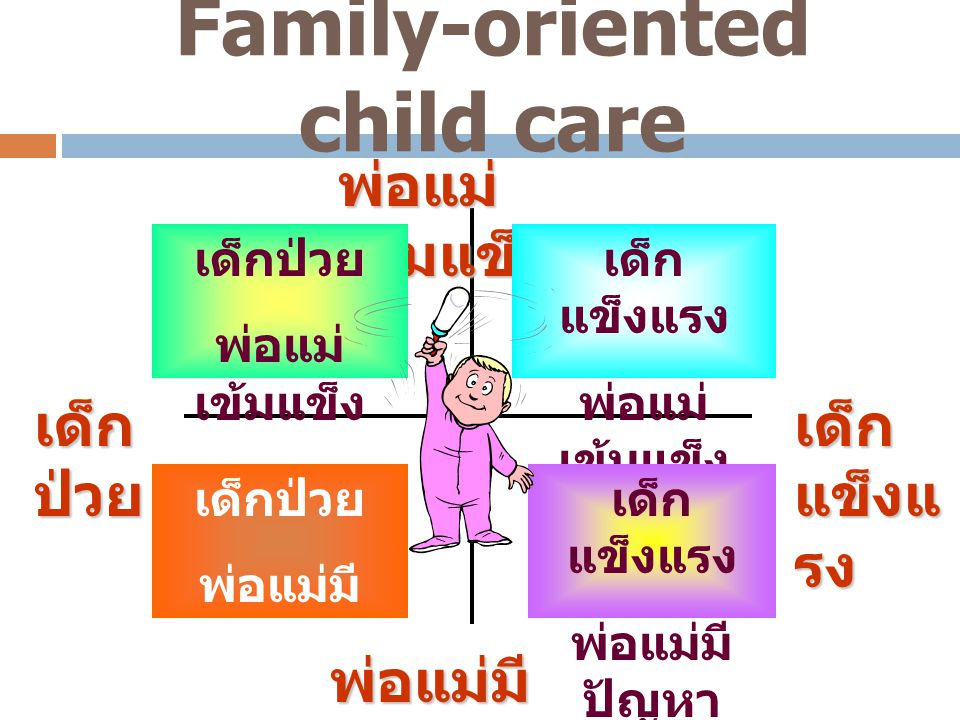 Family-oriented child care