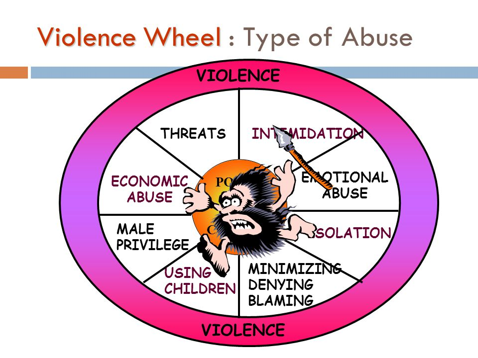 Violence Wheel : Type of Abuse
