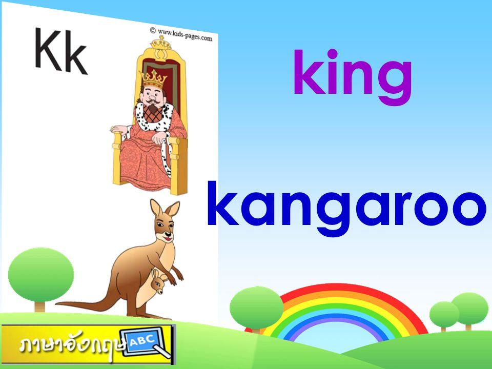king kangaroo