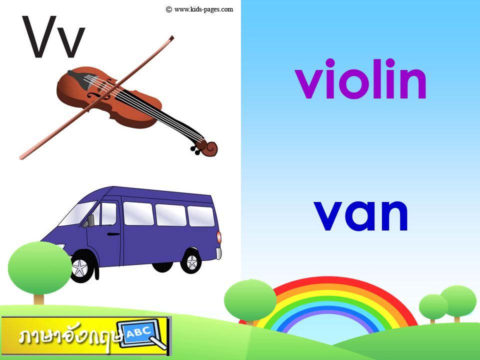 violin van