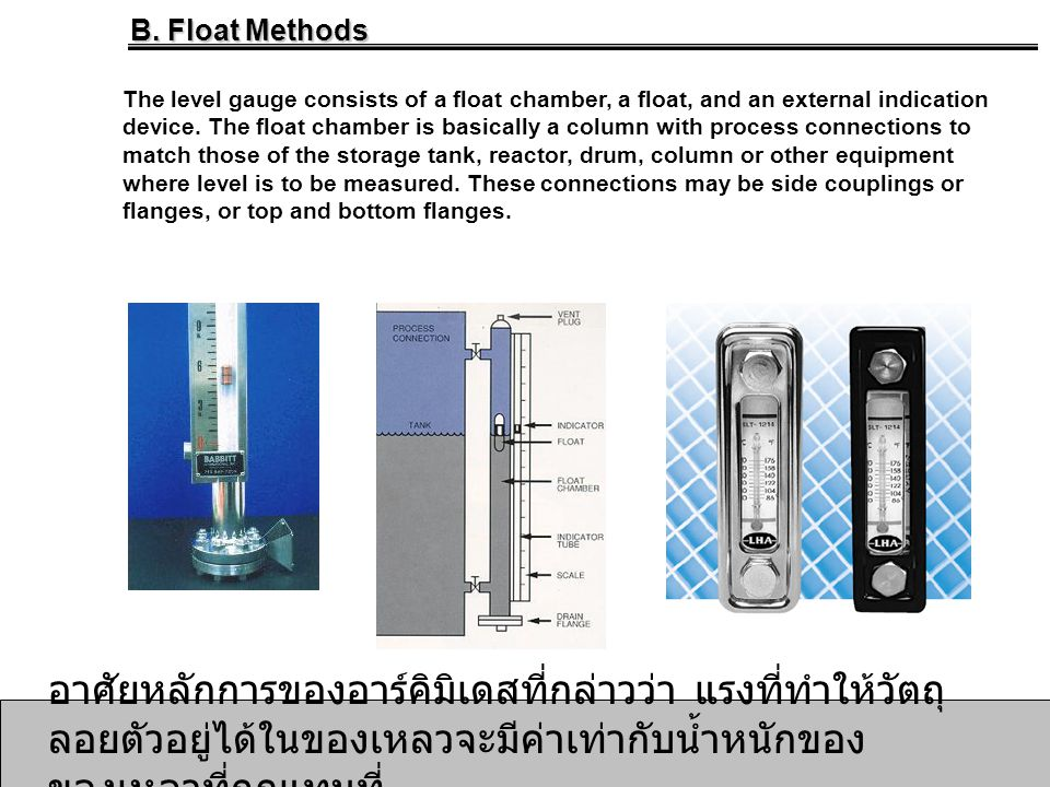 B. Float Methods