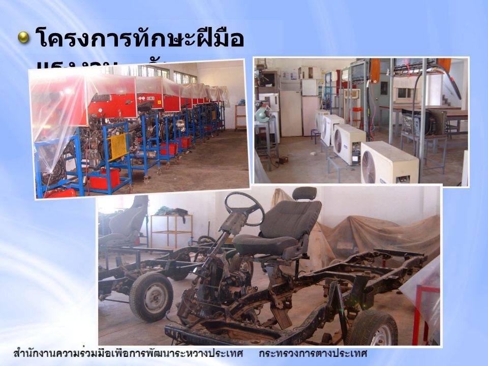 โครงการทักษะฝีมือแรงงาน - กัมพูชา