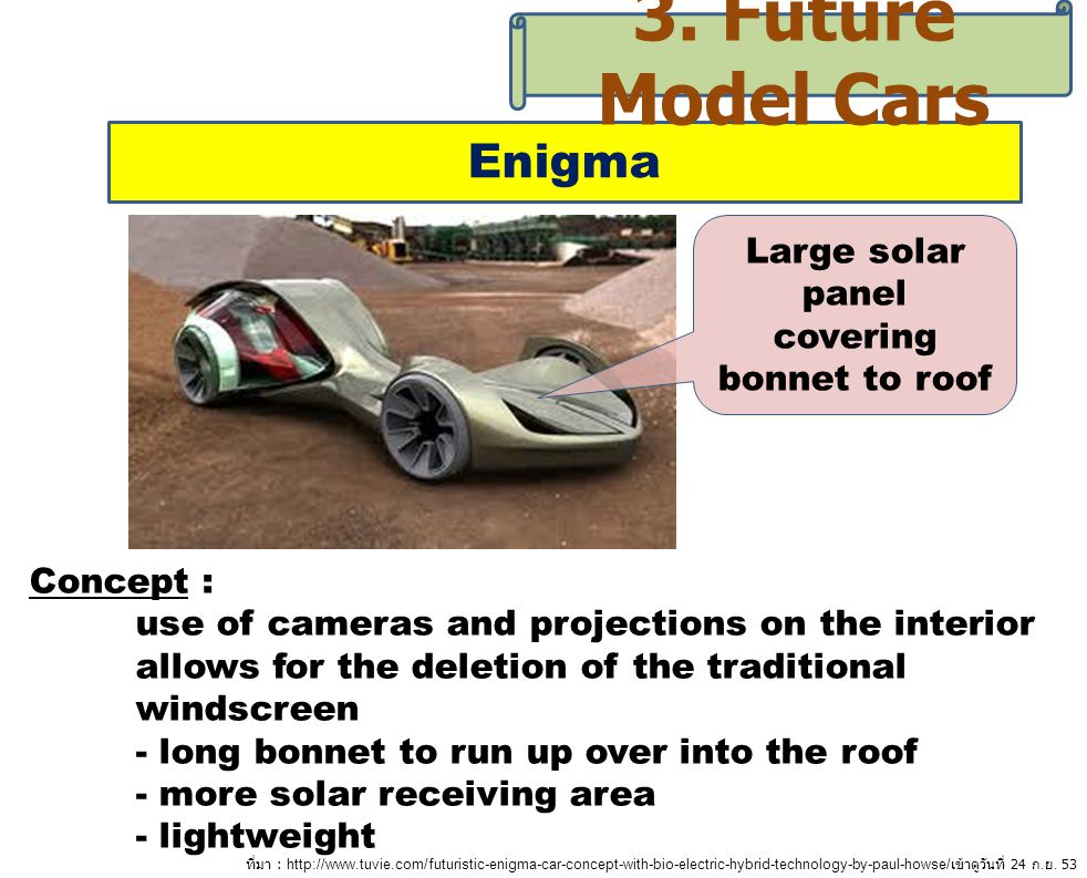 Large solar panel covering bonnet to roof