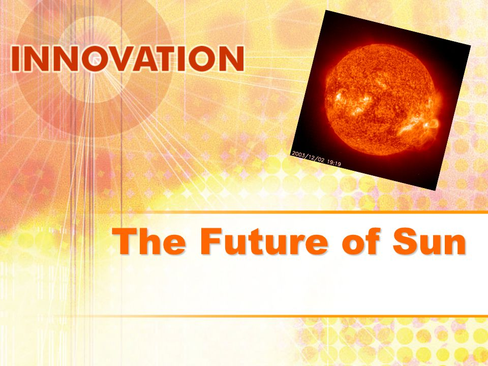 The Future of Sun