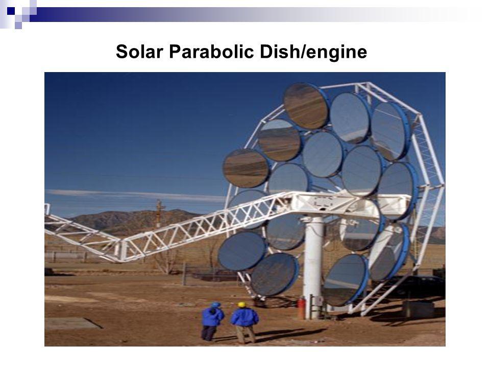 Solar Parabolic Dish/engine