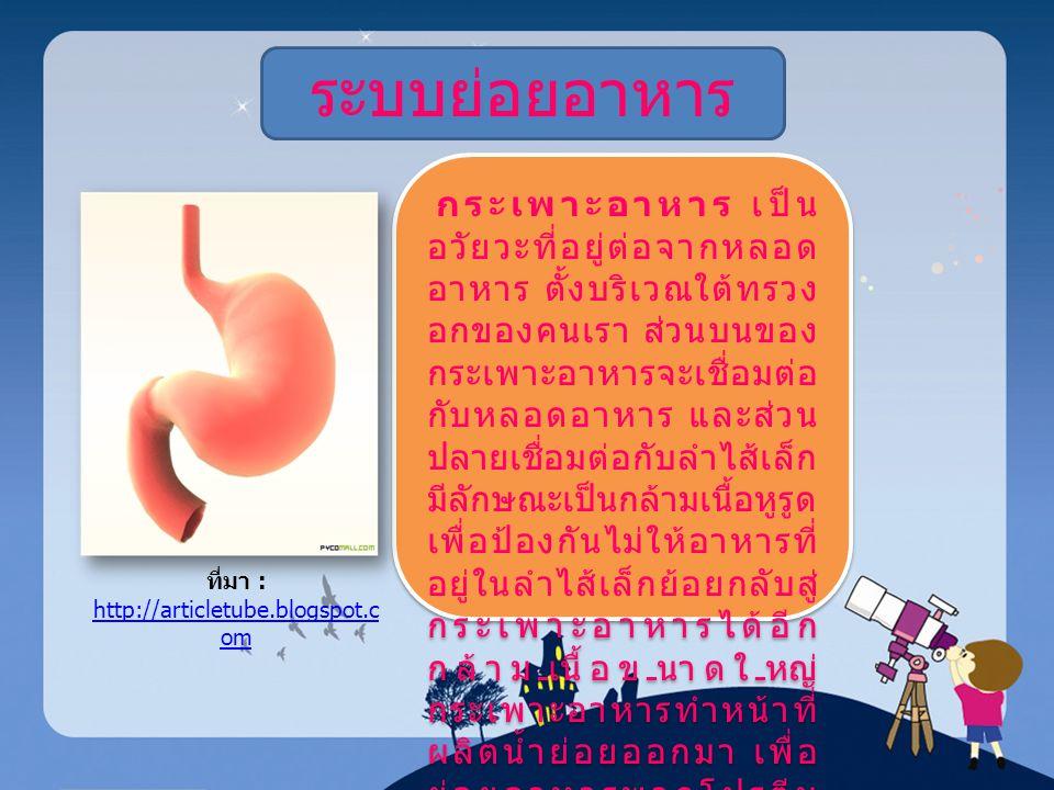 ที่มา : http://articletube.blogspot.co m