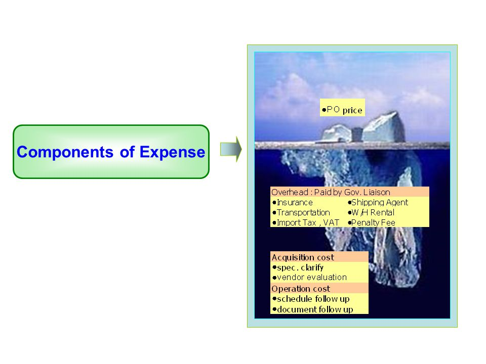 Components of Expense