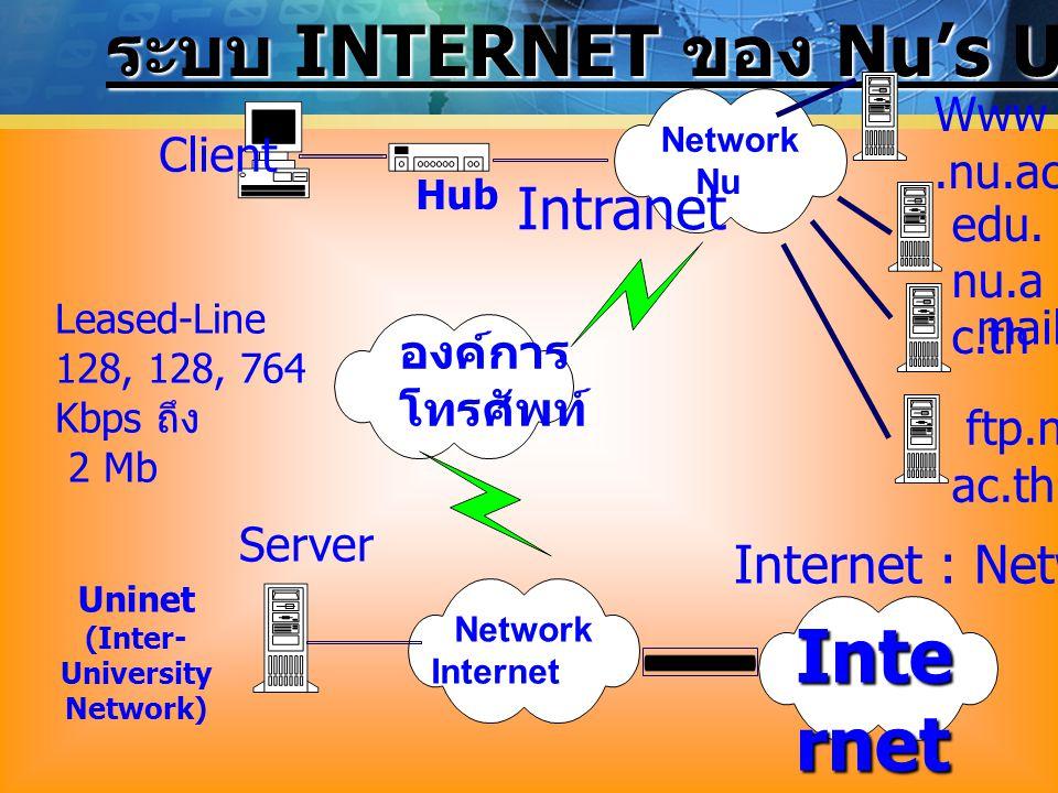 (Inter-University Network)