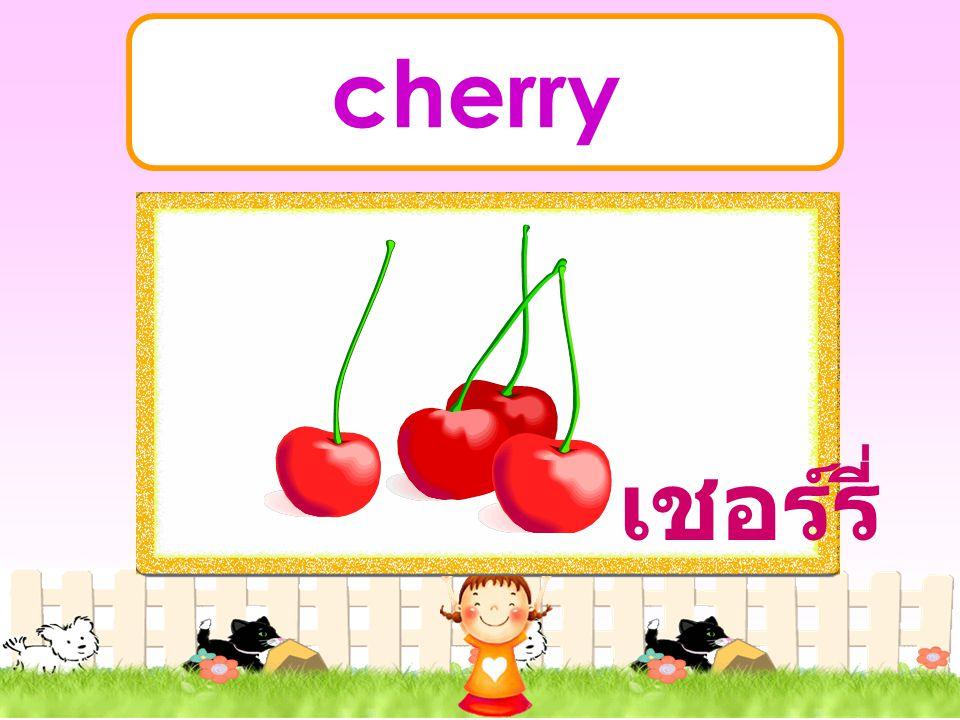cherry เชอร์รี่